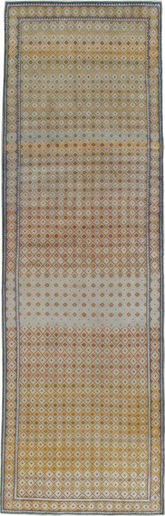 Vintage Kashan Deco Rug, No. 19196 - from Galerie Shabab