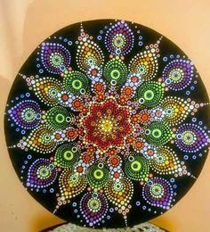 We think you might like these Pins - Dot Art Painting, Mandala Painting, Stone Painting, Round Canvas, Mandala Art Lesson, Mandala Rocks, Rock Design, Mandala Pattern, Rock Art