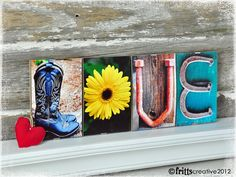 Bought personalized nameplates as Christmas gifts -- love her work!