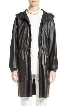 Belstaff Hidcote Nappa Leather Parka available at #Nordstrom