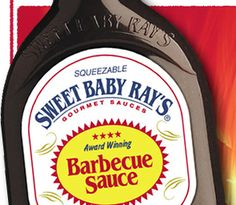 My favorite commercial barbecue sauce.