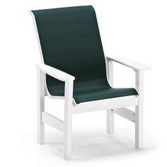 Outdoor Telescope Casual Leeward Sling Arm Chair - 941H-224