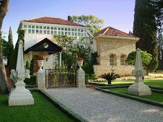 The Shrine of Bahá'u'lláh in Akka, Israel
