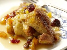 An easy cinnamon raisin bread pudding straight from an Irish American Mom.
