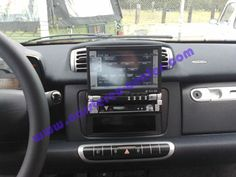 Monitor #Kenwood #KVT629DVD installato su #Smart 2011