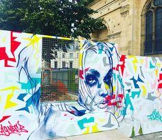 By #toreone #tore for @agnesbofficiel #agnesb  #streetart #graffiti #graff #spray #bombing #wall #paris