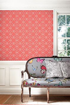 Lattice by Jaima Brown Wallquest. #geometric http://lelandswallpaper.com/store/Display:Show:Contact