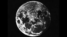 Provavelmente a primeira fotografia da Lua, registrada em 1839.