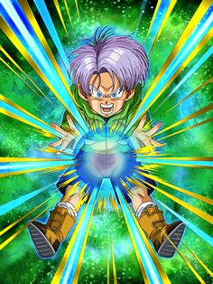 """[Flash of Genius] Trunks (Kid) """"I'm way better than you!"""""""