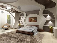 Bedroom design in contemporary style-12