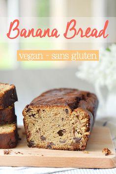 Vous avez des bananes à deux doigts de rendre l'âme dans votre corbeille à fruits ? J'ai la recette qu'il vous faut : le banana bread (sans gluten, vegan) www.sweetandsour.fr
