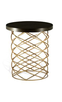 Designer Art Metal Accent Table, sharing luxury designer home decor inspirations and ideas for beautiful living rooms, dinning rooms, bedrooms & bathrooms inc furniture, chandeliers, table lamps, mirrors, art, vases, trays, pillows, accessories & gift courtesy of InStyle Decor Beverly Hills enjoy & happy pinning