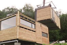 These Modular Pod Homes Balance On Stilts, So Plants Can Grow Underneath | Co.Exist | ideas + impact