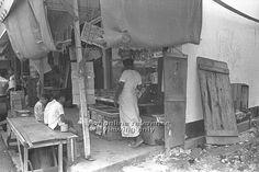 Mamak corner shop in Singapore - 1963