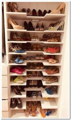 Shoe storage design, Shoe storage, Shoe shelves, Closet designs, Closet bedroom, Shoe closet - 15+ diy pallet projects that are easy to make and sell 00038 ⋆ aegisfilmsales com -  #Shoestorage #design
