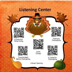 Just add i-pods or i-pads and your students are ready to hear five stories.  Instructions are included.  Laminate this page, and put it in your listening center.  Watch how fast your children are engaged!  Be the first to know about my new sales, freebies and products:  • Look for the green star near the top of any page within my store and click it to become a follower.