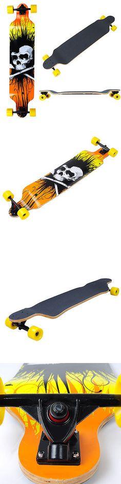 Longboards-Complete 165942: Pro Longboard Complete 41X9 1/2 Cruiser Skateboard Downhill Canadian Maple Deck -> BUY IT NOW ONLY: $49.9 on eBay!