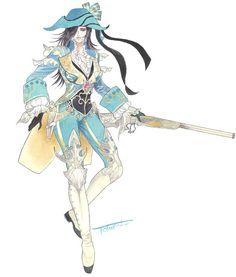 Female Musketeer from Granado Espada