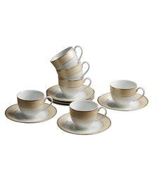 Aditya Golden Vines Porcelain Cup