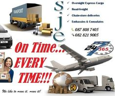 Products and Services* Overnight Express -Overnight delivery by 10:30 am to main local destination.* Economy Services -Delivery within 48 hours to main centre. (Regional and remote locations not guaranteed.)* Freight -Bulk freight* International -Documents, non-documents and economyAdditional Services* After hours/Sundays -Collection and delivery of parcels after hours* 9am -Optional service of delivery of overnight parcels by 9am the next day including Saturdays.* Sameday deliveries…