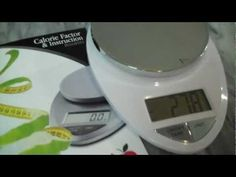 Video #review of our Precision Pro Digital Kitchen Scale. #eatsmart