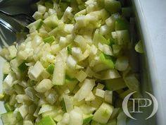 Insalata di finocchio e mela verde