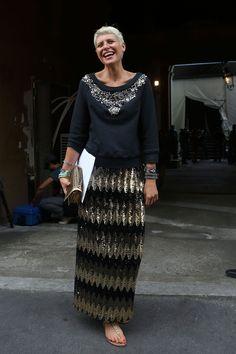 Milan Fashion Week Street Style  — Spring 2013 Edition  Elisa Nalin