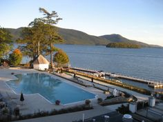 View of Lake George from the Sagamore in New York Lake George, Hanging Out, New York, Dreams, Outdoor Decor, New York City, Nyc