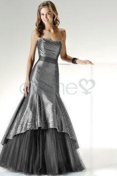 Natuerliche Taille Tuell Herz Ausschnitt Formelles Gestuftes Romantisches Bodenlanges Quinceanera Kleid P6532 $222.99 Quinceanera Kleider