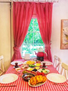 Her sabah kahvaltı 05336910450 Curtains, Home Decor, Blinds, Decoration Home, Room Decor, Draping, Home Interior Design, Picture Window Treatments, Home Decoration