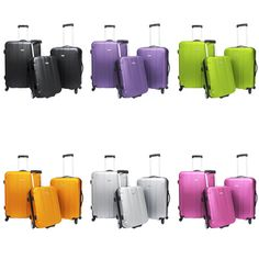 @Overstock - Make a bold statement with your baggage with this three-piece hardside spinner luggage set. Available in a variety of colors to match your personal style, these spacious bags will save you energy when pulling them and will stand out at baggage claim.http://www.overstock.com/Luggage-Bags/Travelers-Choice-Rome-3-piece-Spinner-Hardside-Luggage-Set/2539109/product.html?CID=214117 $129.99