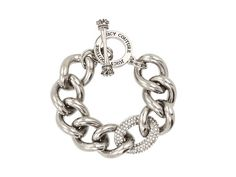 Shop for Luxe Rocks - Pave Link Bracelet (Silver) - Jewelry by Juicy Couture at ShopStyle. Now for Sold Out. Juicy Couture Bracelet, Juicy Couture Jewelry, Bling Jewelry, Silver Jewelry, Jewelry Accessories, Silver Bracelets, Link Bracelets, Crystals, Bling Bling
