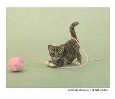 Kerri Pajutee is a masterful miniature animal artist.