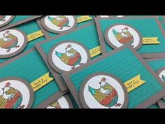 My Pink Stamper: Episode 530 - Stampin' Up! Hey, Chick Watercolor C...