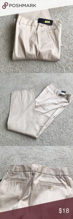 """New Kenneth Cole Kyla pants Tan pants purchased at Dillard's. Style is Kayla by Kenneth Cole New York. 98% cotton, 2% Lycra. Leg has a slight Flare. Inseam is 33"""". New with tags. Size 4 Kenneth Cole Pants"""