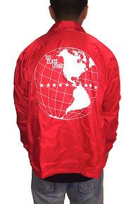 1st Class World Wide Coach Jacket in Red
