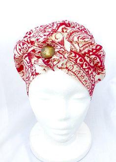 COTON Turban Chapeau pour femmes//hommes, AESY chimio Coiffure Dames Beanie Chapeaux D/'été
