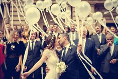 #TheLANEweddings  Love the idea of everyone having these balloons it looks so beautiful