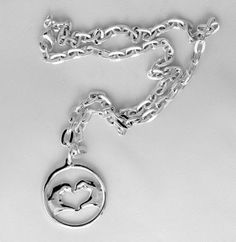 Taylor Swift Heart-in-Hands Necklace