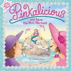 Pinkalicious and Aqua, the Mini-Mermaid by Victoria Kann http://www.amazon.com/dp/006241075X/ref=cm_sw_r_pi_dp_mWe6wb15CWM24
