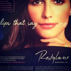 Volumize your lips with Restylane