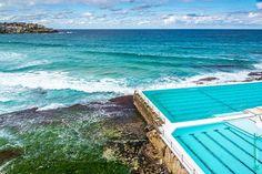 Bondi Beach - New South Wales Australia.  #sydney #nsw #newsouthwales #australia #art #fineart #photography #nature #architecture #beach #bondi #pool #horizon #mmorenofoto
