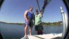 Watch this video to see the World's Strongest Man vs. The World's Strongest Barefoot Boom (Barefoot International Boom)