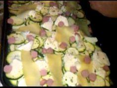 Pasta (fusilli) con zucchine e gamberetti (ricetta light) - YouTube