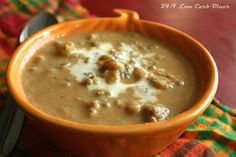 24/7 Low Carb Diner: Hearty Pumpkin Soup