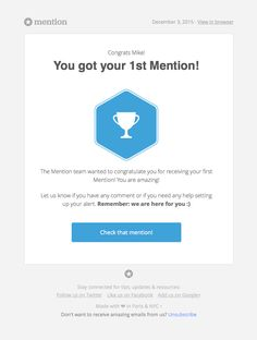How was your first time Mike? - Really Good Emails Engagement Emails, Email Design Inspiration, You Got This, Let It Be, Best Email, Newsletter Design, Wedding Proposals, You Are Amazing, Email Marketing
