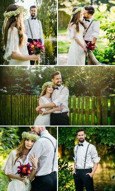 naturalny plener ślubny , romantyczne zdjęcia ślubne , kwiaty na ślub, natura,las, miłość, fotografia ślubna , opole,