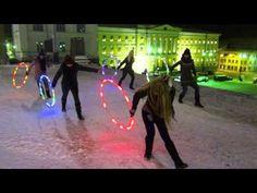LED Choreographed World Hoop Day-dance 2012 Helsinki, Finland