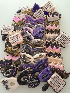 Amazing Purim cookies by NYDULCE