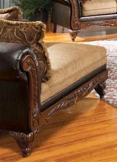 "Fairfax Chaise | Acme Furniture | Home Gallery Stores Fairfax Chaise60"" W x 35"" D x 35"" H100 lbs Right Facing Chaise $540"